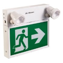 LED Steel Running Man Sign With Adjustable Twin Spot: ELRM-180-18RCS