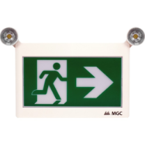 LED Running Man Sign With Adjustable Twin Spot: ELRM-180-2RC